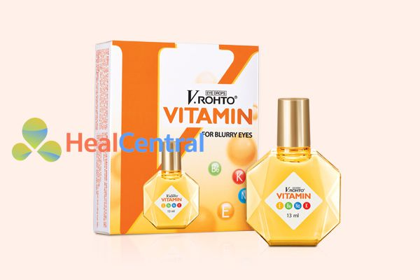 Thuốc nhỏ mắt V.rohto vitamin lọ 13ml