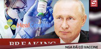 Vaccine Covid - 19 của Nga