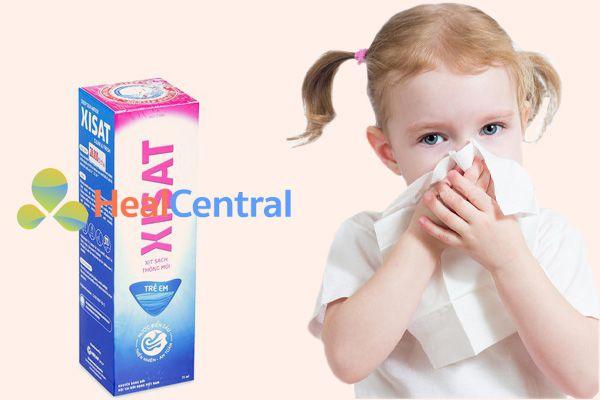 Nước xịt mũi Xisat cho trẻ em mấy tuổi?