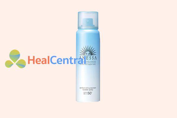 Xịt Chống Nắng Toàn Diện Anessa Perfect UV Spray Sunscreen Aqua Booster SPF 50+/ PA++++ (60g)