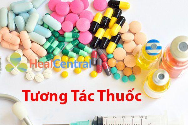 Tương tác của Thuốc với các thuốc khác