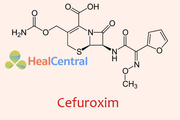 Công thức hóa học của Cefuroxim