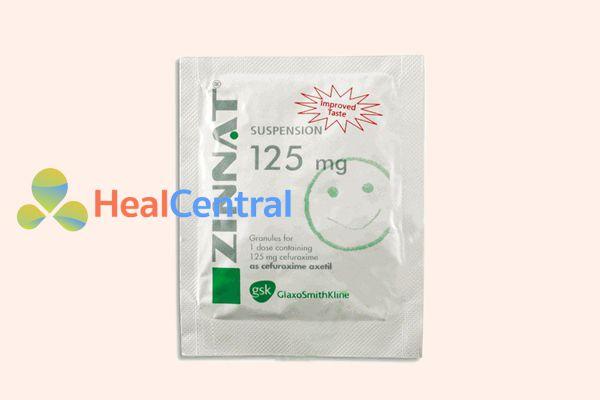 Thuốc Zinnat dạng cốm phù hợp cho trẻ em