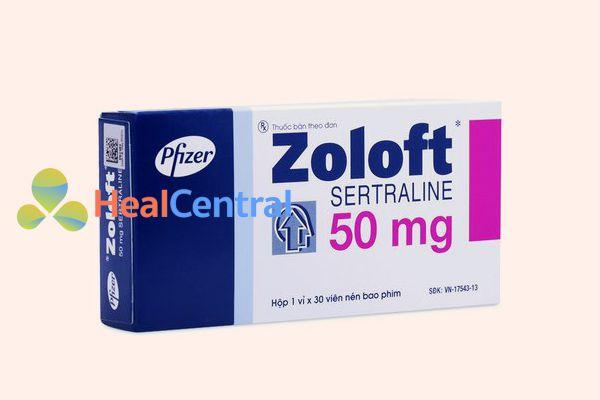 Hình ảnh: Hộp Thuốc Zoloft