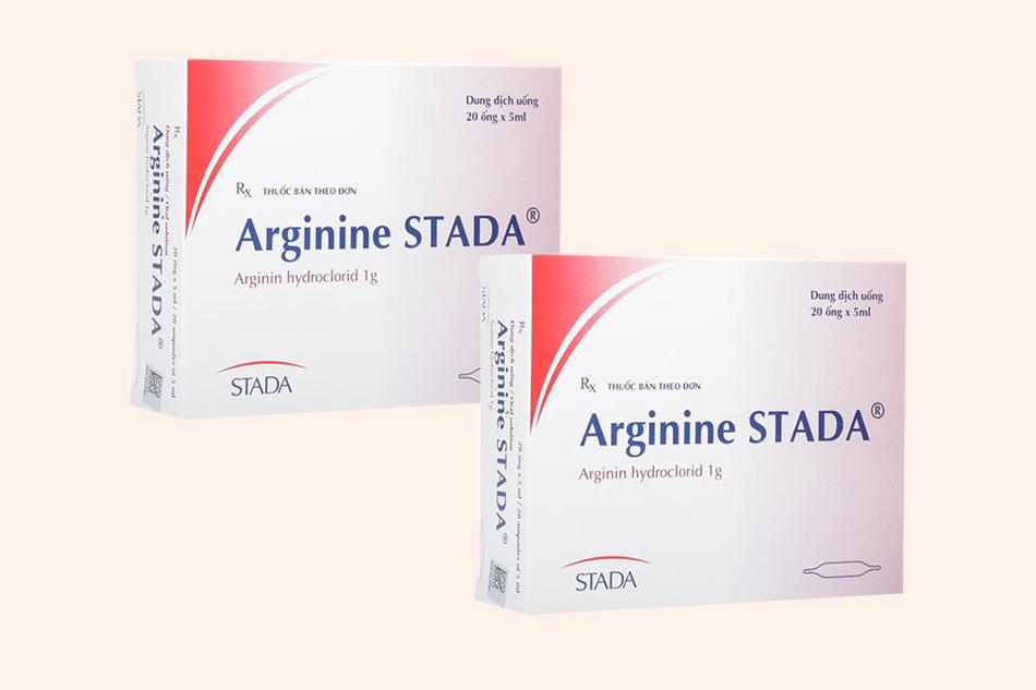 Thuốc Arginine sản xuất bởi Công ty Stada