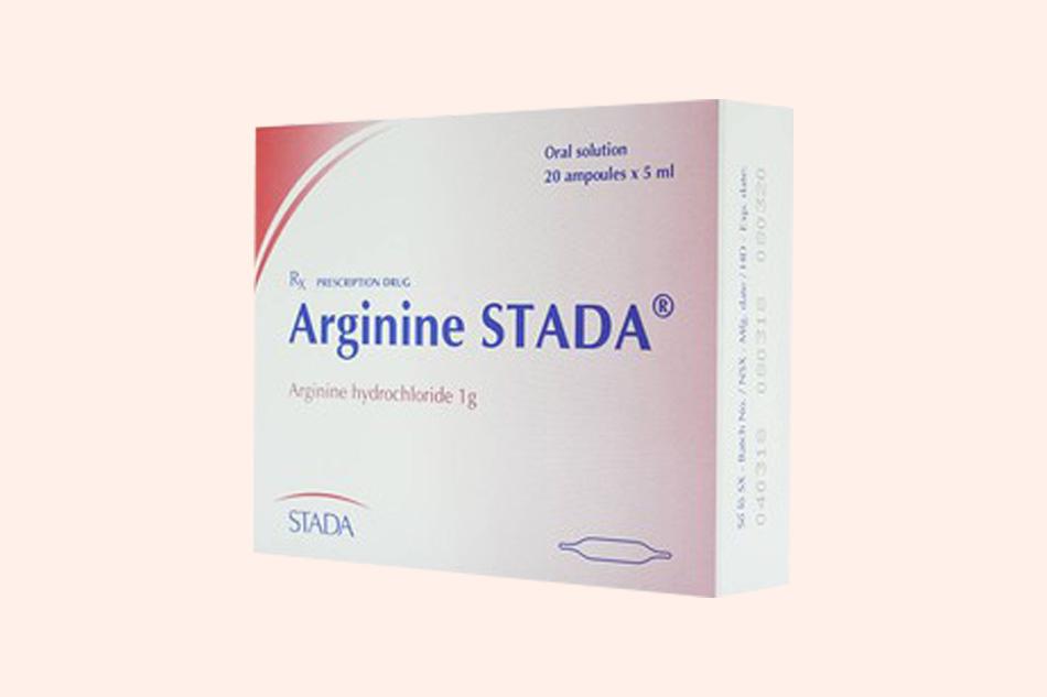 Hình ảnh hộp thuốc Arginine