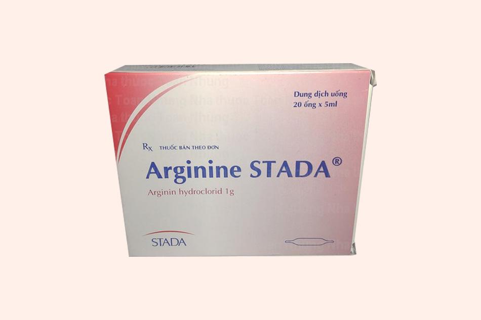 Thuốc Arginine bào chế dạng dung dịch uống
