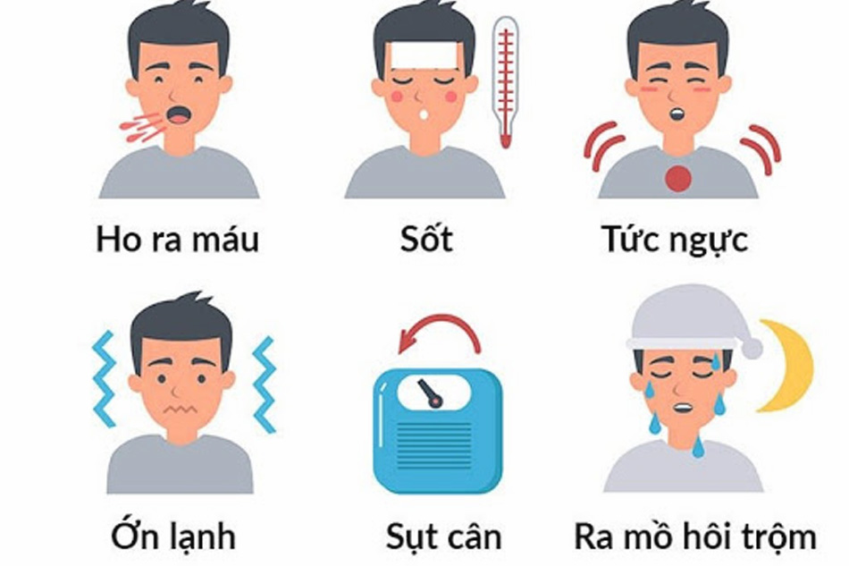 Các dấu hiệu của bệnh lao phổi