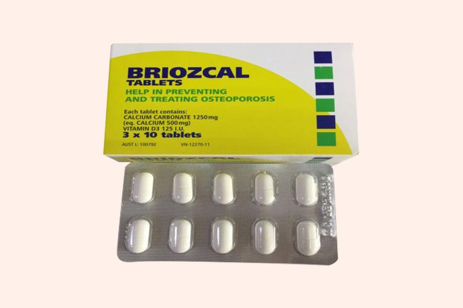 Thuốc Briozcal xuất xứ từ Úc