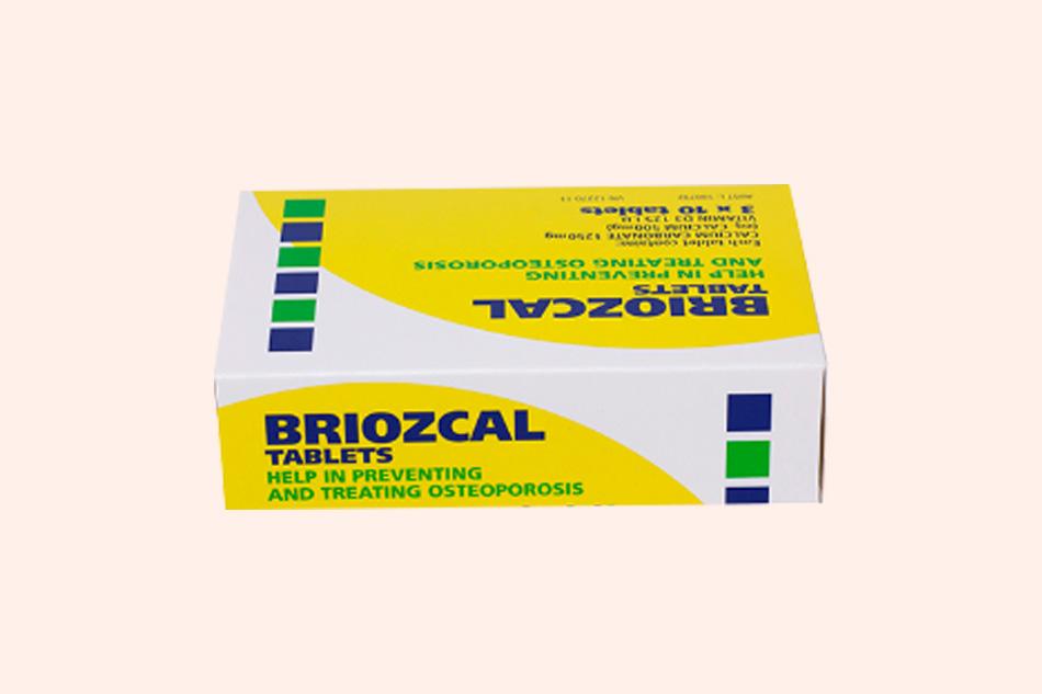 Hình ảnh hộp thuốc Briozcal