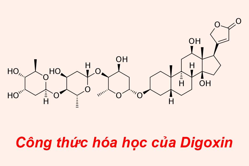 Công thức hóa học của Digoxin