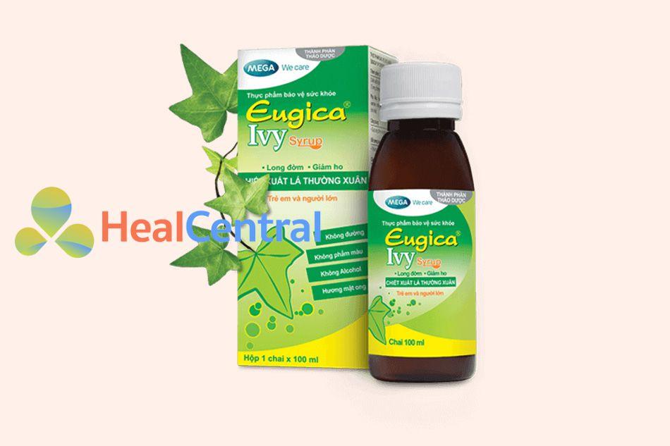 Siro Eugica Ivy Syrup dạng dung dịch