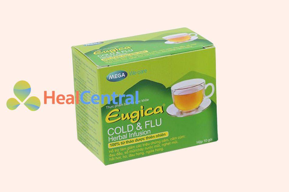 Trà thảo dược Eugica Cold & Flu Herbal Infusion