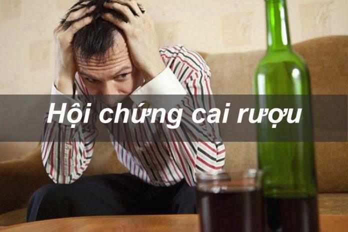 Hội chứng cai rượu