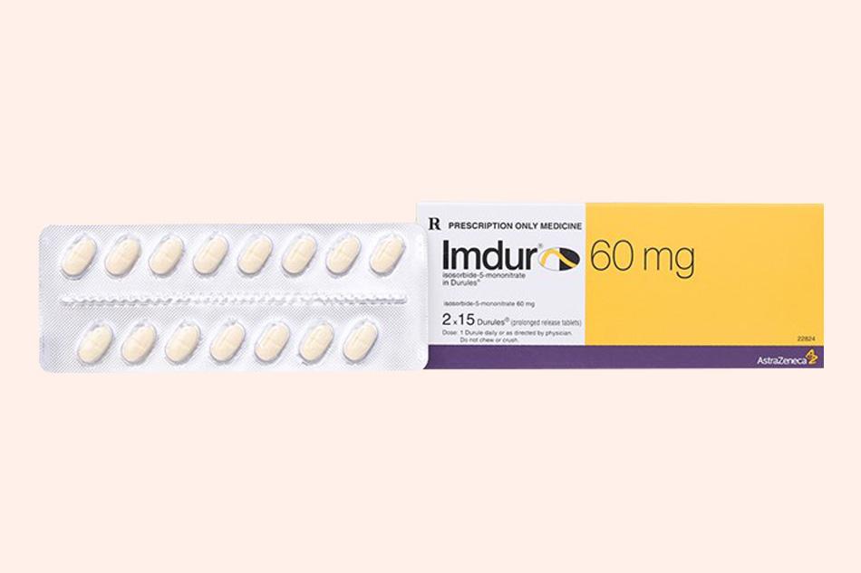 Thuốc Isosorbid với tên biệt dược là Imdur