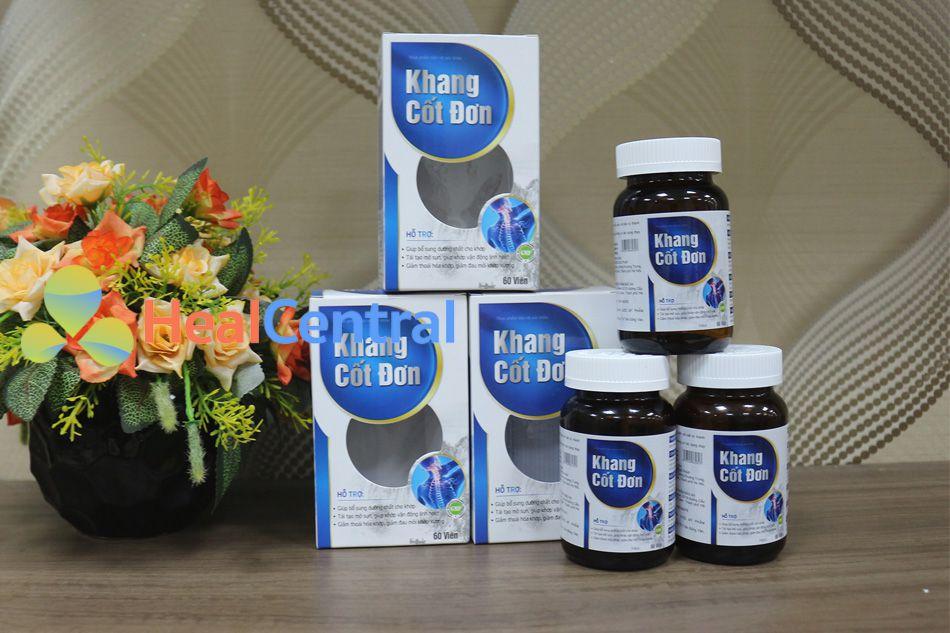 Khang Cốt Đơn giúp bổ sung dưỡng chất cho xương khớp