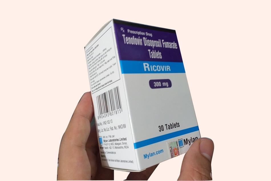Thuốc Ricovir 300mg thuộc nhóm kháng virus