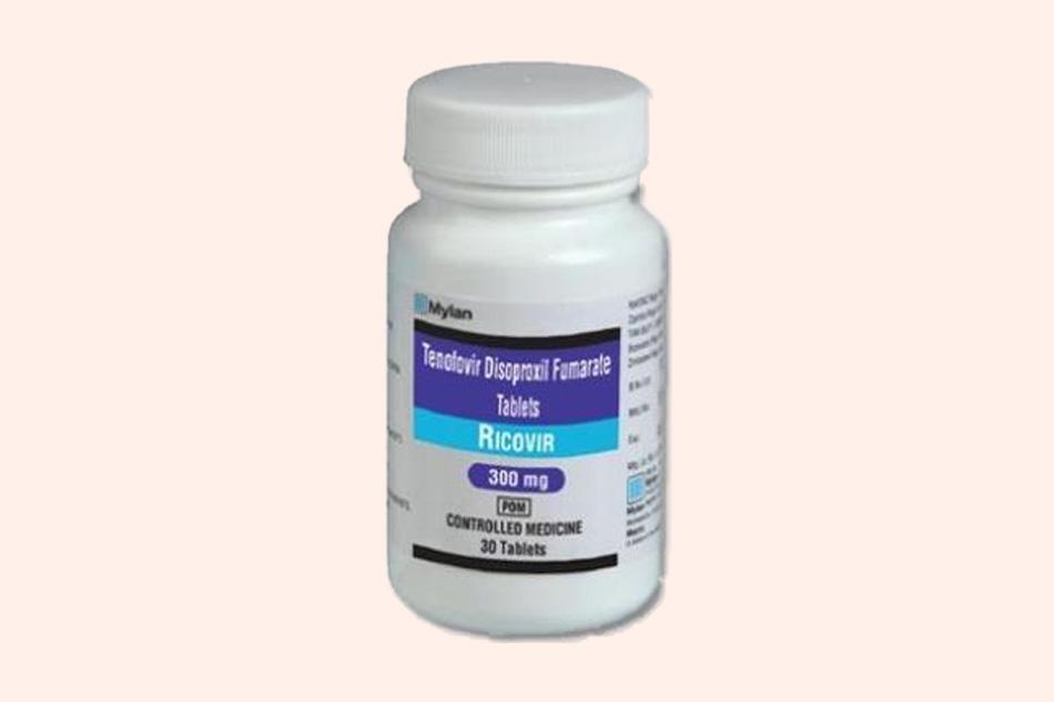 Hình ảnh lọ thuốc Ricovir 300mg