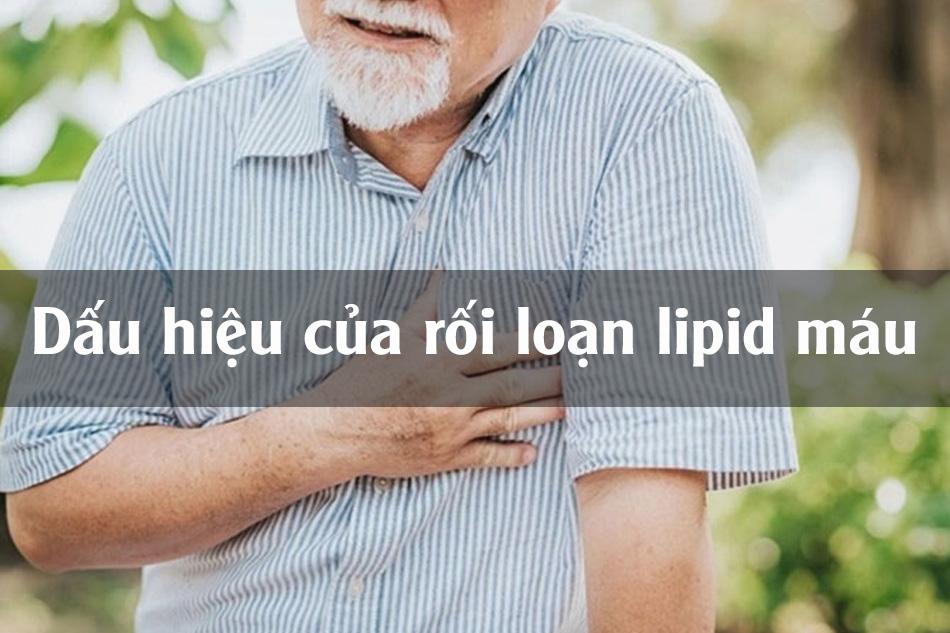 Dấu hiệu rối loạn lipid máu
