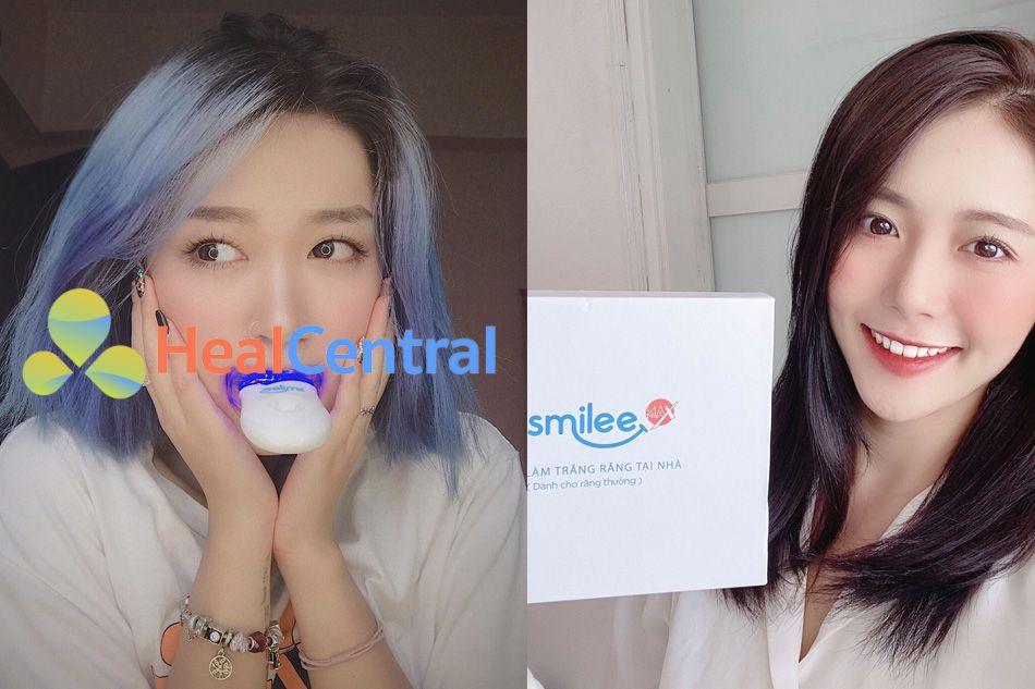 Review của người sử dụng về bộ kit trắng răng Smilee