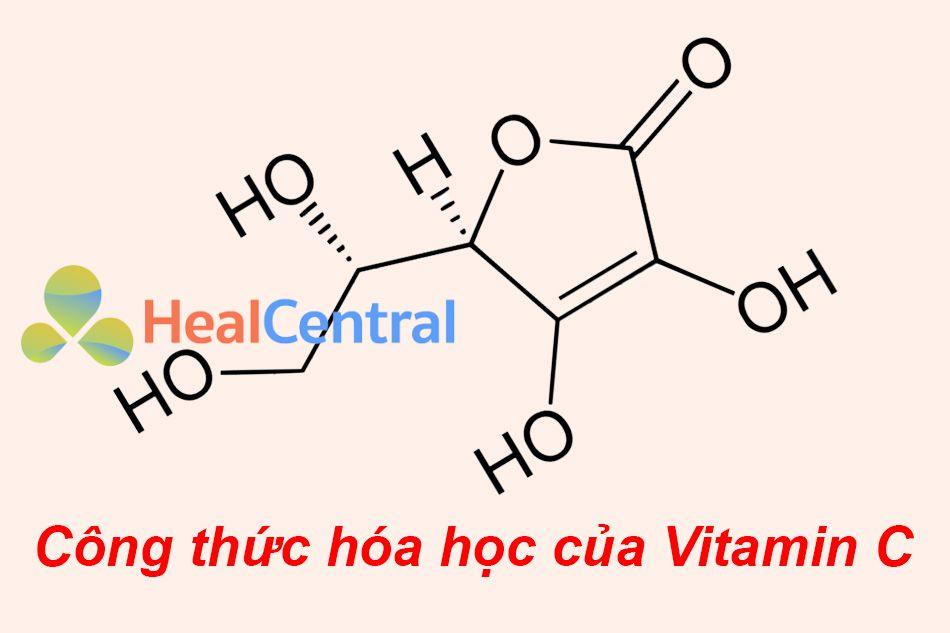 Công thức hóa học của Vitamin C