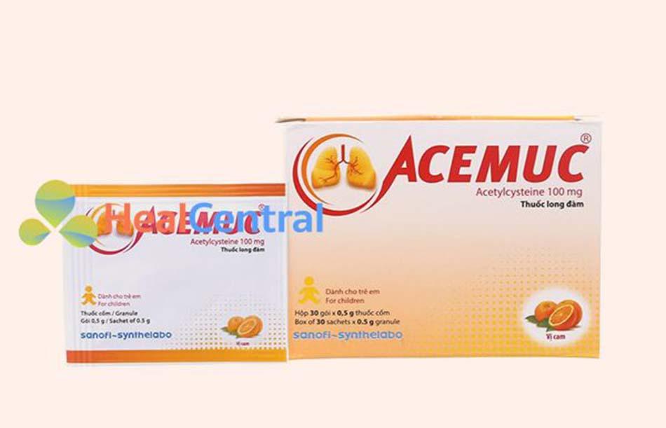 Thuốc Acemuc 100mg