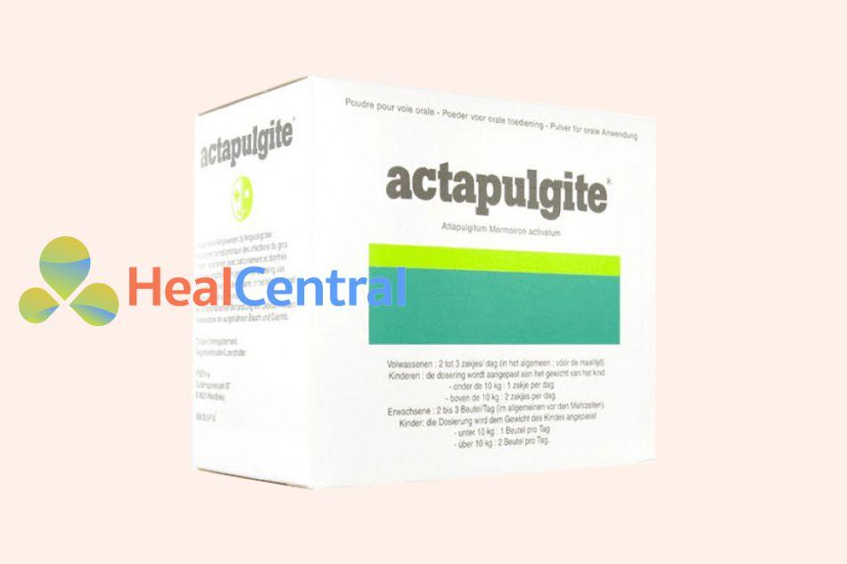 Hình ảnh hộp thuốc Actapulgite