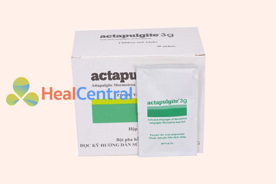 Hình ảnh gói thuốc Actapulgite