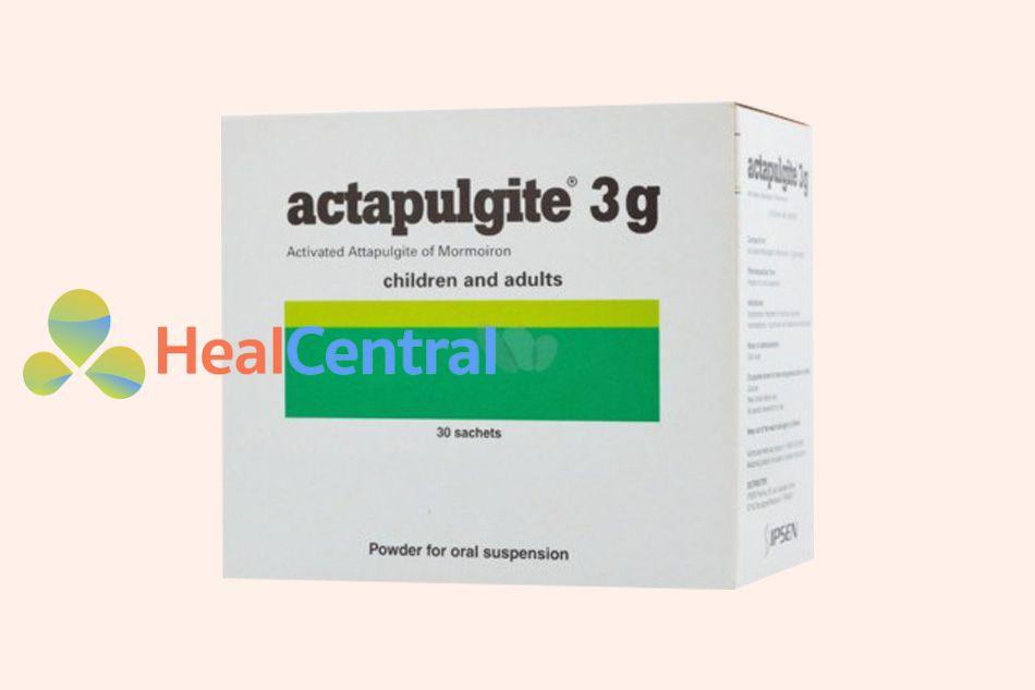 Thuốc Actapulgite điều trị tiêu chảy
