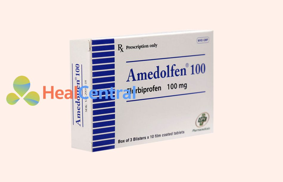 Hình ảnh: Hộp thuốc Amedolfen 100