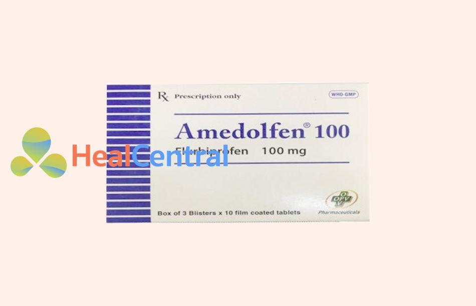Lưu ý khi sử dụng Amedolfen 100 với các thuốc chống đông máu