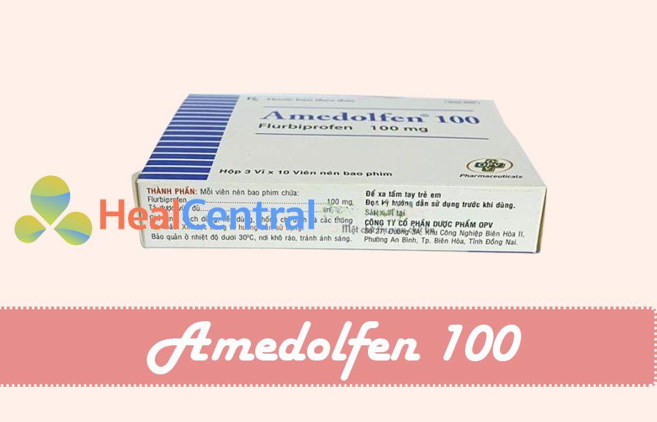Thuốc Amedolfen 100 được chống chỉ định sử dụng cho phụ nữ có thai và đặc biệt là trong 3 tháng cuối thai kỳ