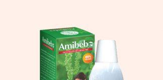 Nước tắm thảo dược Amibebe