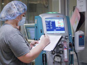Tất cả các máy thở đều có âm thanh báo động khi có bất kỳ thay đổi nào về thông khí.