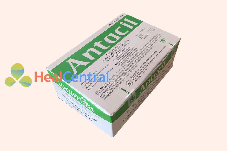 Thuốc Antacil giúp bao vết loét dạ dày
