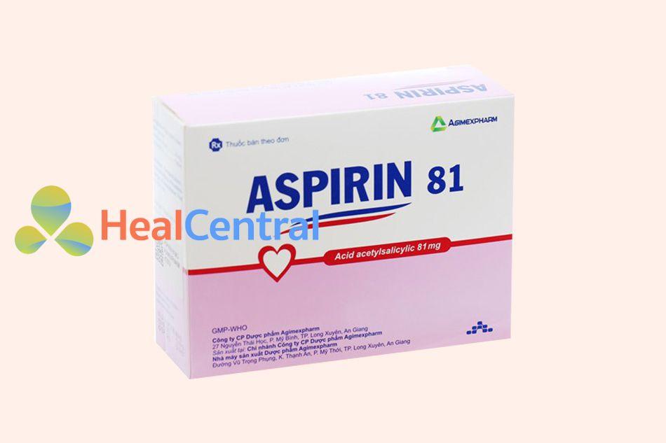 Thuốc Aspirin của Công ty Agimexpharm