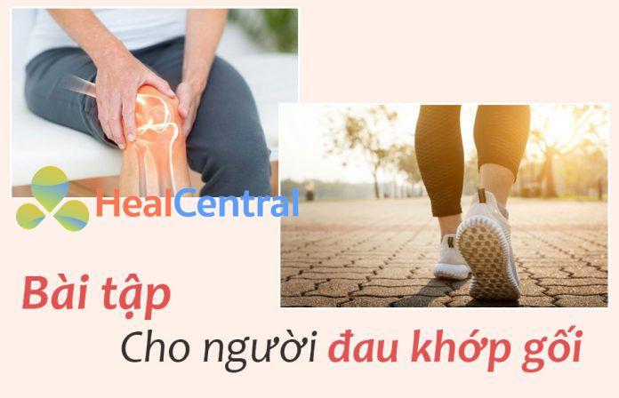 Bài tập cho người đau khớp gối