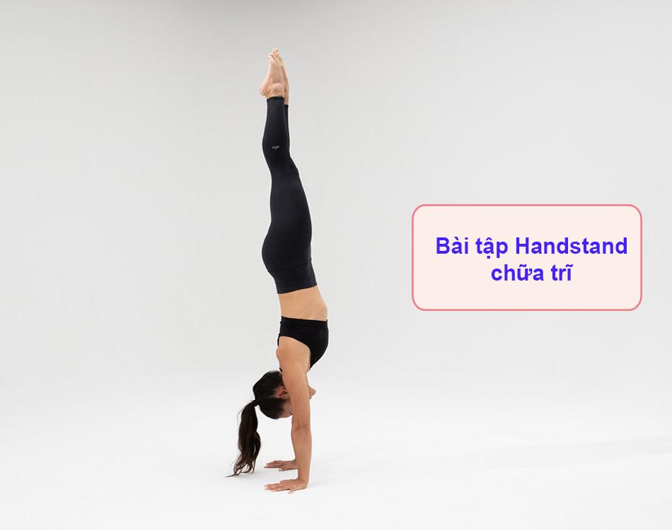 Bài tập Handstand chữa trĩ