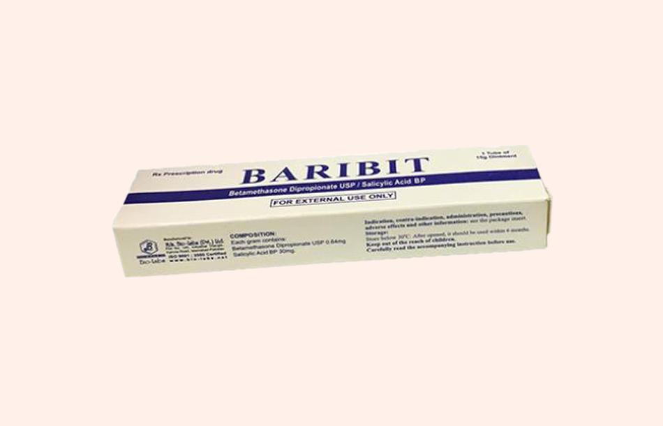 Hình ảnh: Hộp thuốc Baribit