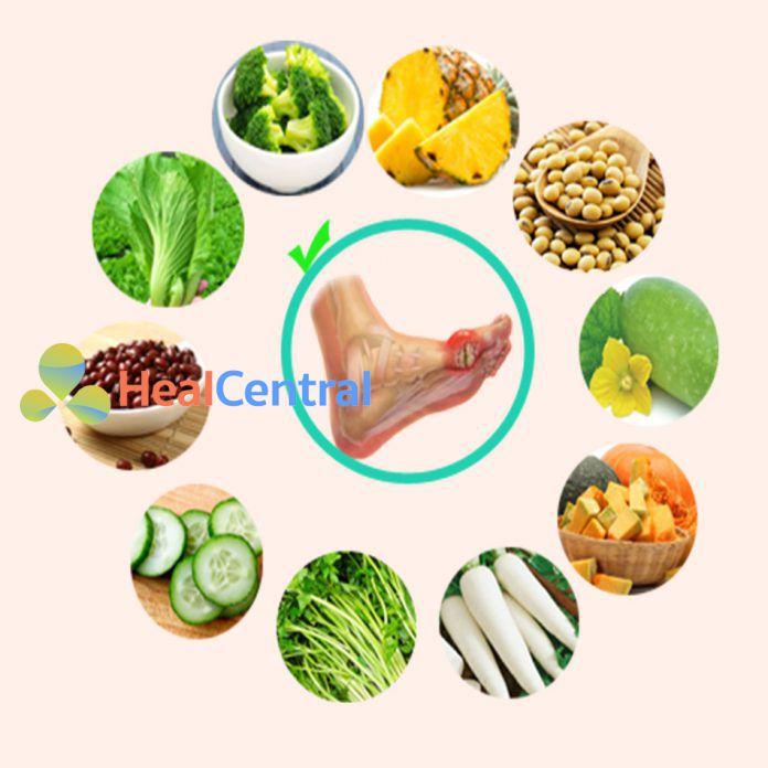Bệnh gout nên ăn gì?