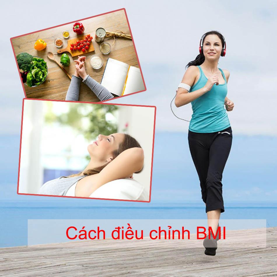 Cách điều chỉnh BMI chuẩn