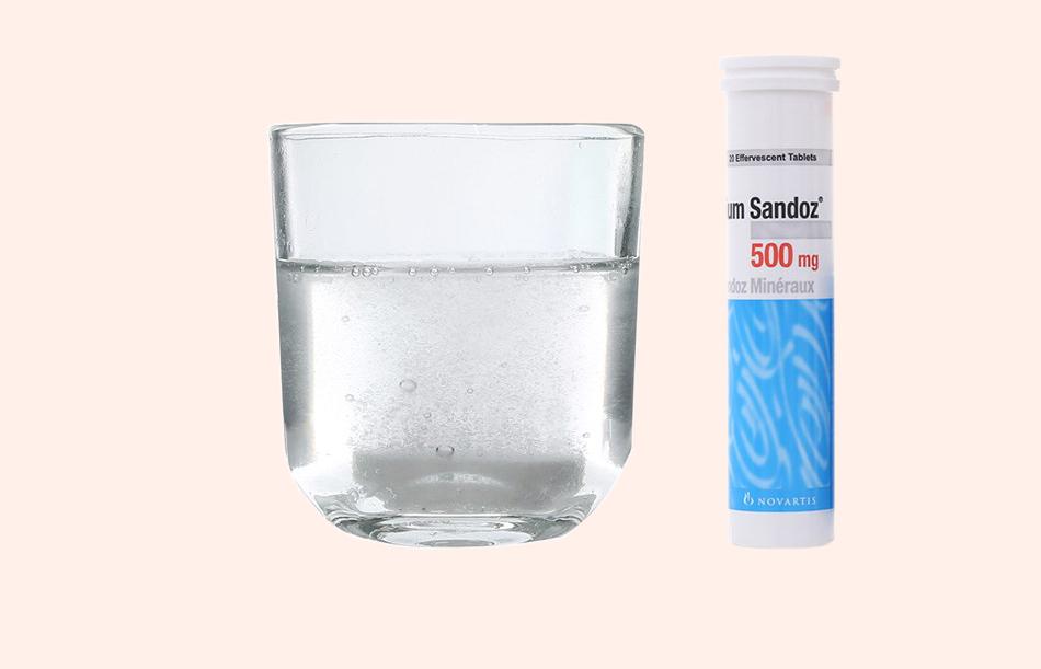 Cách sử dụng Calcium sandoz