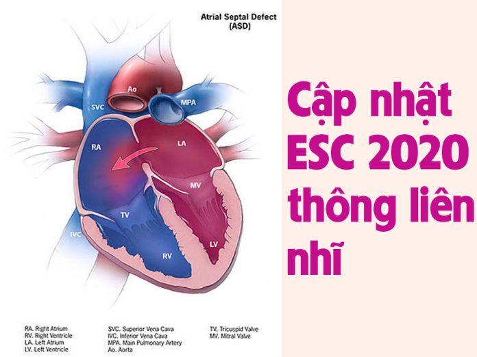 Cập nhật ESC 2020 thông liên nhĩ