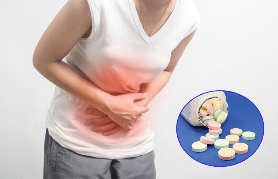 Sử dụng thuốc tây giảm đau bụng buổi sáng