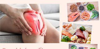 Bị đau khớp gối nên ăn gì?