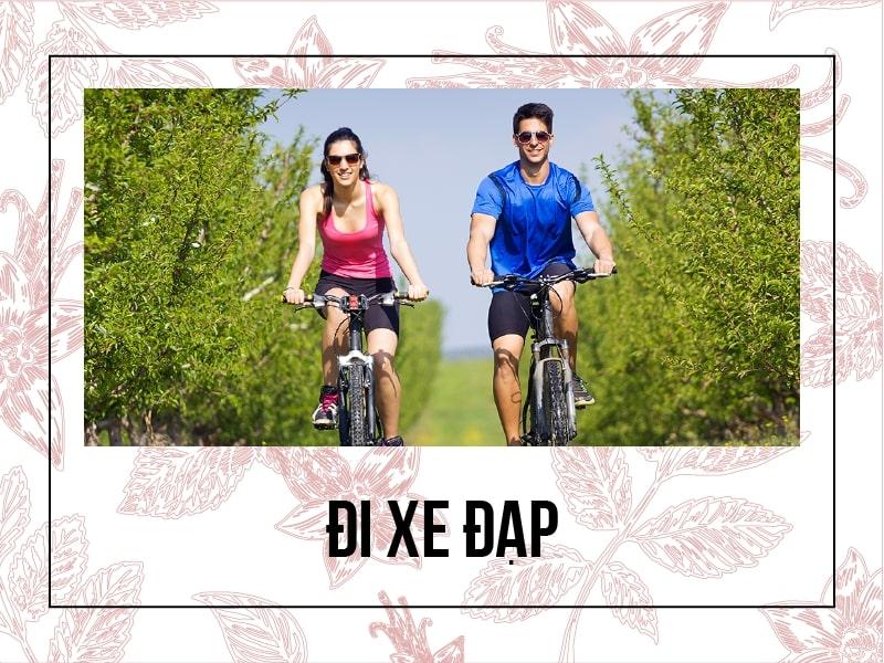Đi xe đạp được nhiều người sử dụng tăng cường sức khỏe xương khớp