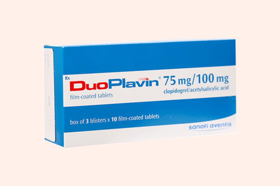 Thuốc Duoplavin bào chế dạng viên nén