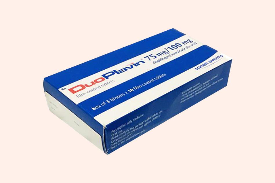 Thuốc Duoplavin điều trị huyết khối