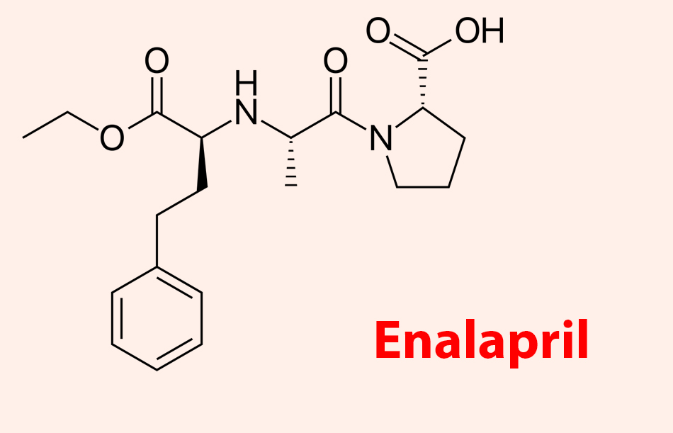 Công thức hóa học của Enalapril