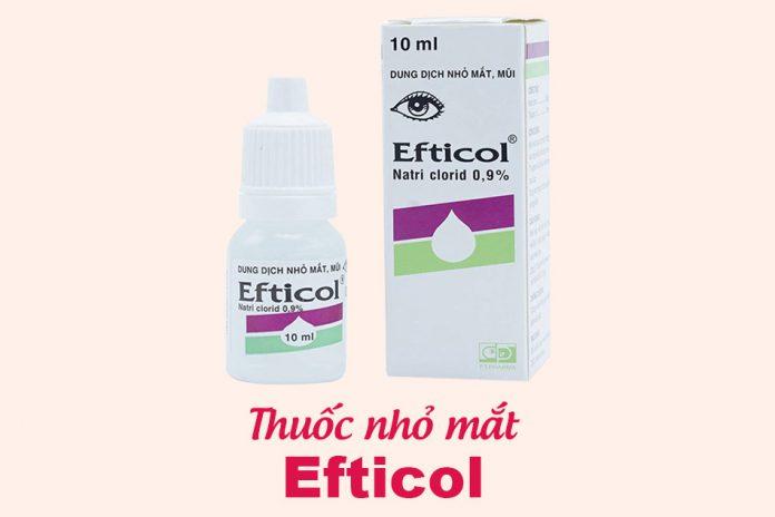 Thuốc nhỏ mắt Efticol